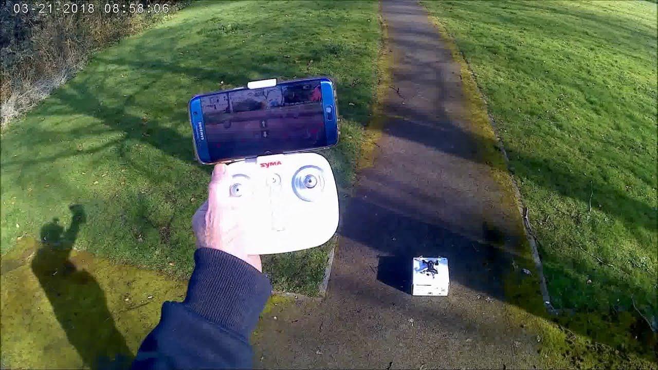 Syma X22W WiFi FPV RC Quadcopter drone - Full Review фотки