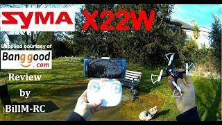 Syma X22W WiFi FPV RC Quadcopter drone  - Full Review