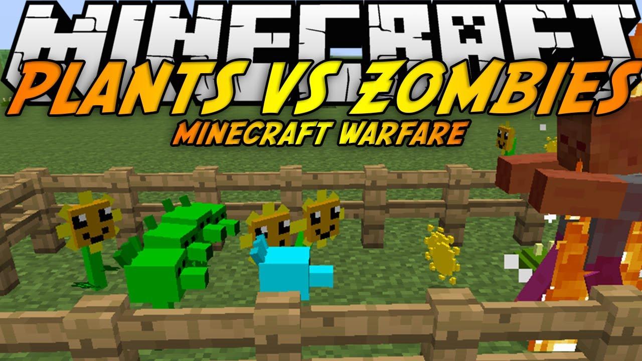 Plants Vs Zombies: Minecraft Warfare Mod 1 7 10 - 9Minecraft Net