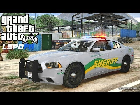 GTA 5 MODS LSPDFR 18 (GTA 5 MOD) SHERIFF