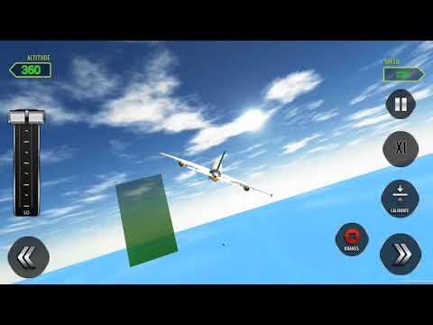 City Airplane Flight Tourist Transport Simulator