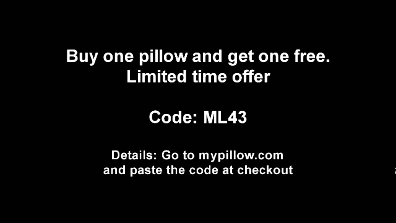 Mypillow Promo Code Buy 1 Pillow And Get 1 Free Limited Time Offer