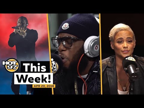 Freeway on the FreestyleKendrick  more at Summer JamPaula Patton on HOT97 This Week!