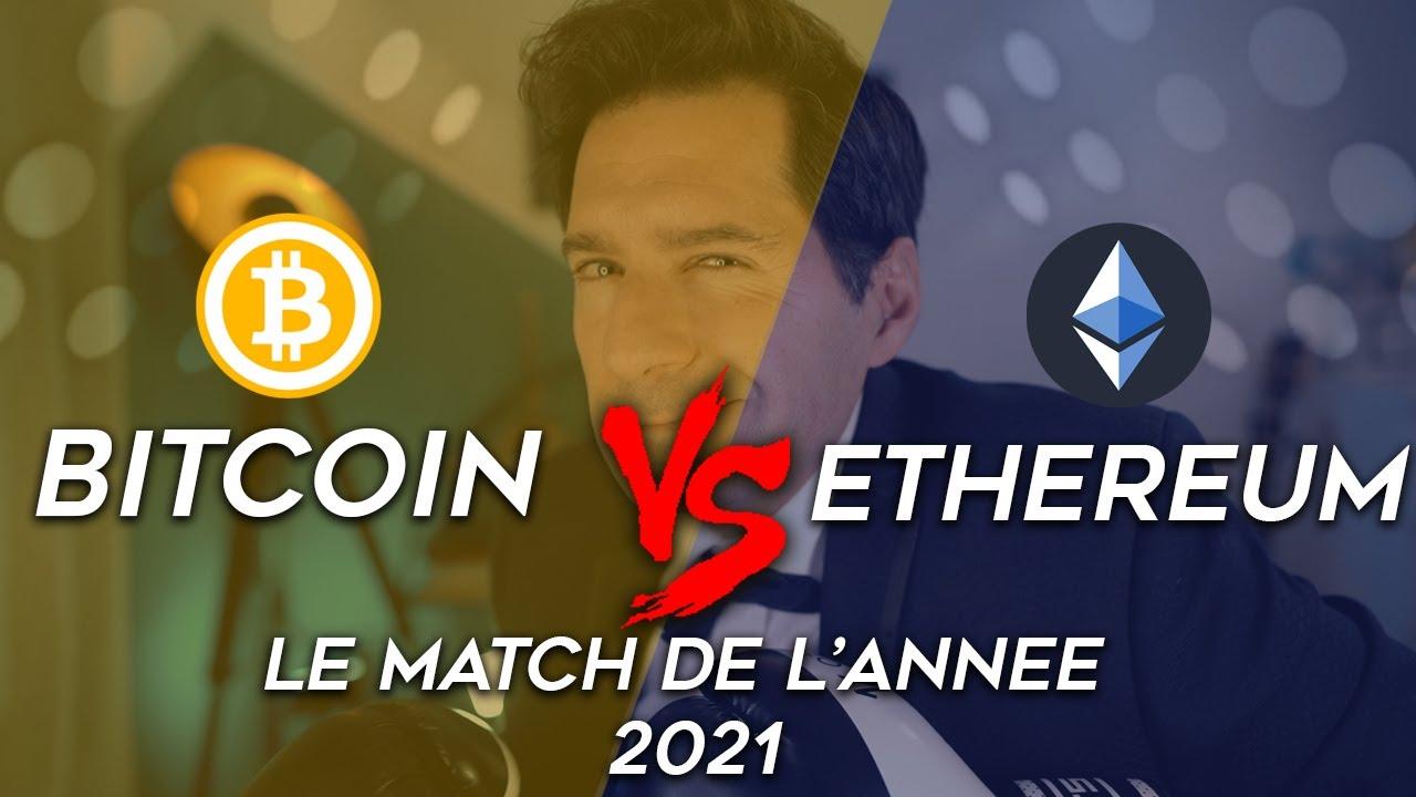 BITCOIN ou ETHEREUM ? Quelle crypto monnaie INVESTIR pour 2021? 🚀