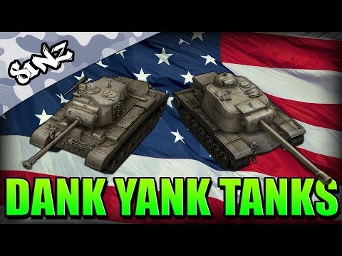 DANK YANK TANKS (M46 Patton & T110E4 Gameplay) - World of Tanks Console | Guest Replay