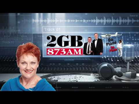 Pauline Hanson speaks with Steve Price & Andrew Bolt about the plane.