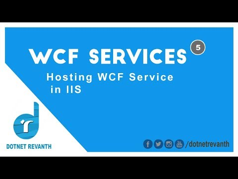 Hosting WCF Service in IIS || Part-5