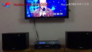 Bộ karaoke chỉ 9Tr thôi. Nhưng làm nức lòng những chủ nhân của nó...Loa TANK, vang TANK, đẩy SONMIU.