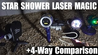 Star Shower Laser Magic Review + 4-Way Star Shower Comparison