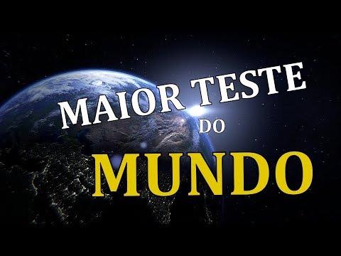 🔴 MAIOR TESTE DO MUNDO