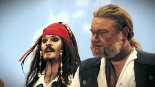 Супергерои. Пираты Карибского моря. Черная Борода.