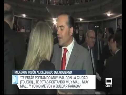 VÍDEO | El zasca de Tolón al delegado del Gobierno de Rajoy