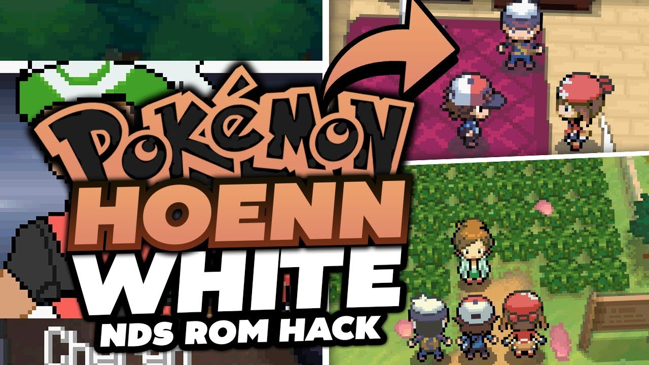 WE PLAY A NDS ROM HACK!? - (Pokémon Hoenn White NDS Rom Hack Gameplay +  Download!)
