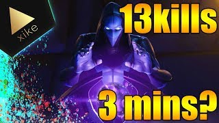 NEW SKIN OMEN YEAH RIGHT? 13 kills in 3 minutes ?? Fortnite: Battle Royale Xike