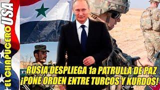 Rusia pone orden entre Siria y Turquía. Putin va por su Nobel de la Paz.