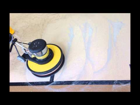 Gym Floor Stripping Waxing Buffing