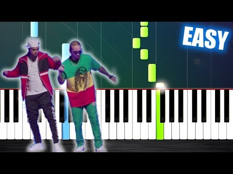 Nicky Jam X J. Balvin - X (EQUIS) - EASY Piano Tutorial By PlutaX