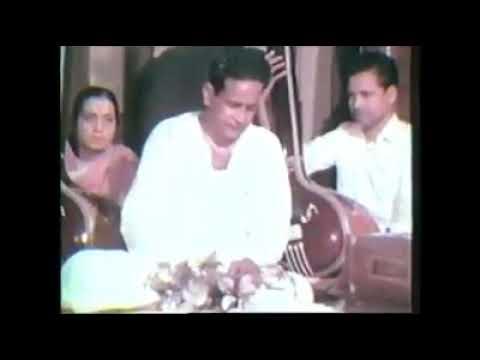 Pandit bhimsen joshi very rare video at his peak time
