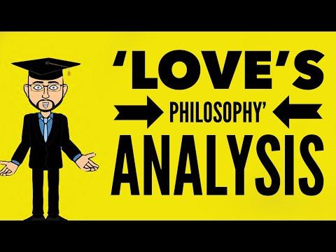 Percy Shelley's 'Love's Philosophy': Mr Bruff Analysis