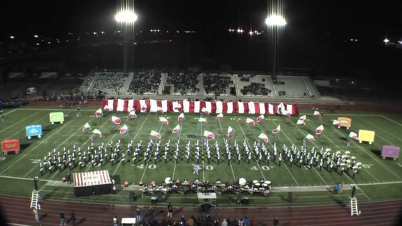 flower mound marching band 10-26-12