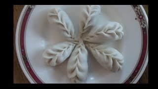 How to wrap dumpling(7 ways)