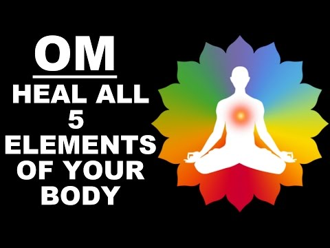 HEALING OM MEDITATION: 5 ELEMENTS  PANCHBHOOT MANTRA : VERY POWERFUL