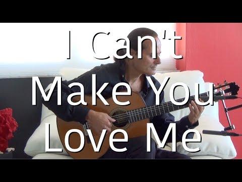 I Can't Make You Love Me (Bonnie Raitt) Michael Marc - Fingerpicking Guitar