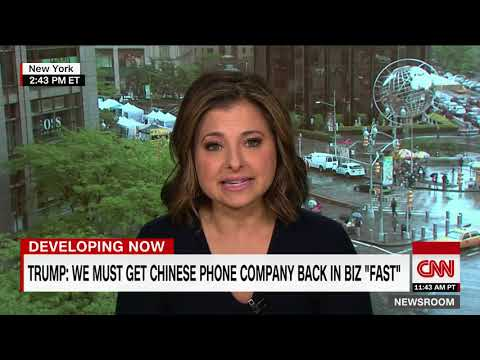 Interesting times: Trump wants to help Chinese tech giant ZTE