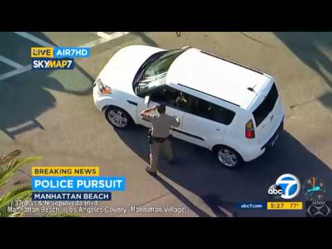"""CHP Police Pursuit 9-8-17  """"Police Chase Woman Driver For Erratic Driving"""""""