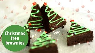 Christmas Tree Brownies | Christmas Recipes | Manorama Online