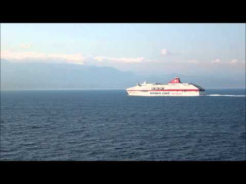 CRUISE OLYMPIA passes FORZA 1.09.2014 MINOAN LINES / ANEK LINES