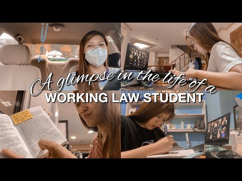 LIFE OF A WORKING LAW STUDENT