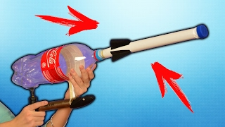How to Make a Rocket Home made How To Build A Rocket (From pump bottles and paper)
