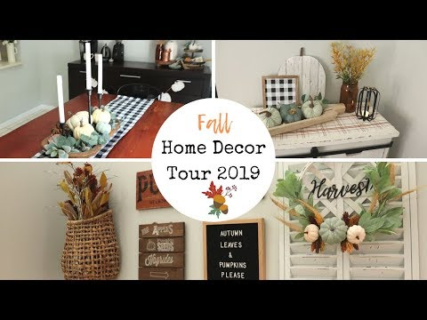 Fall Home Tour 2019 | Modern Farmhouse Style Decor