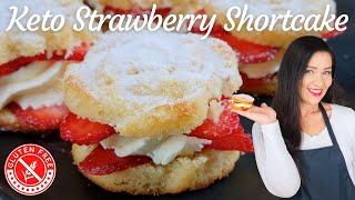 Keto Strawberry Shortcake   Gluten Free