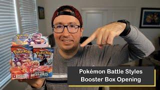 Pokémon Sword & Shield Battle Styles Box Opening
