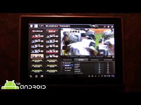 Directv NFL Sunday Ticket For Tablets On Android