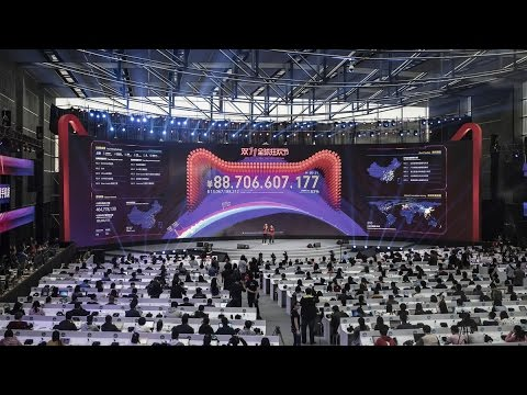 Alibaba Smashes Singles' Day Record