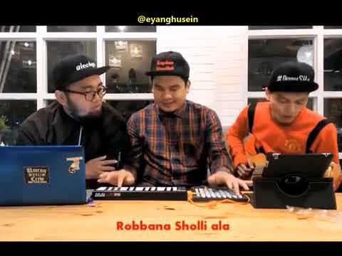 Cuplikan lagu baby shark versi sholawat oleh aleehya