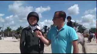 Pony rider Alexa Stiegler on SidelinesTV