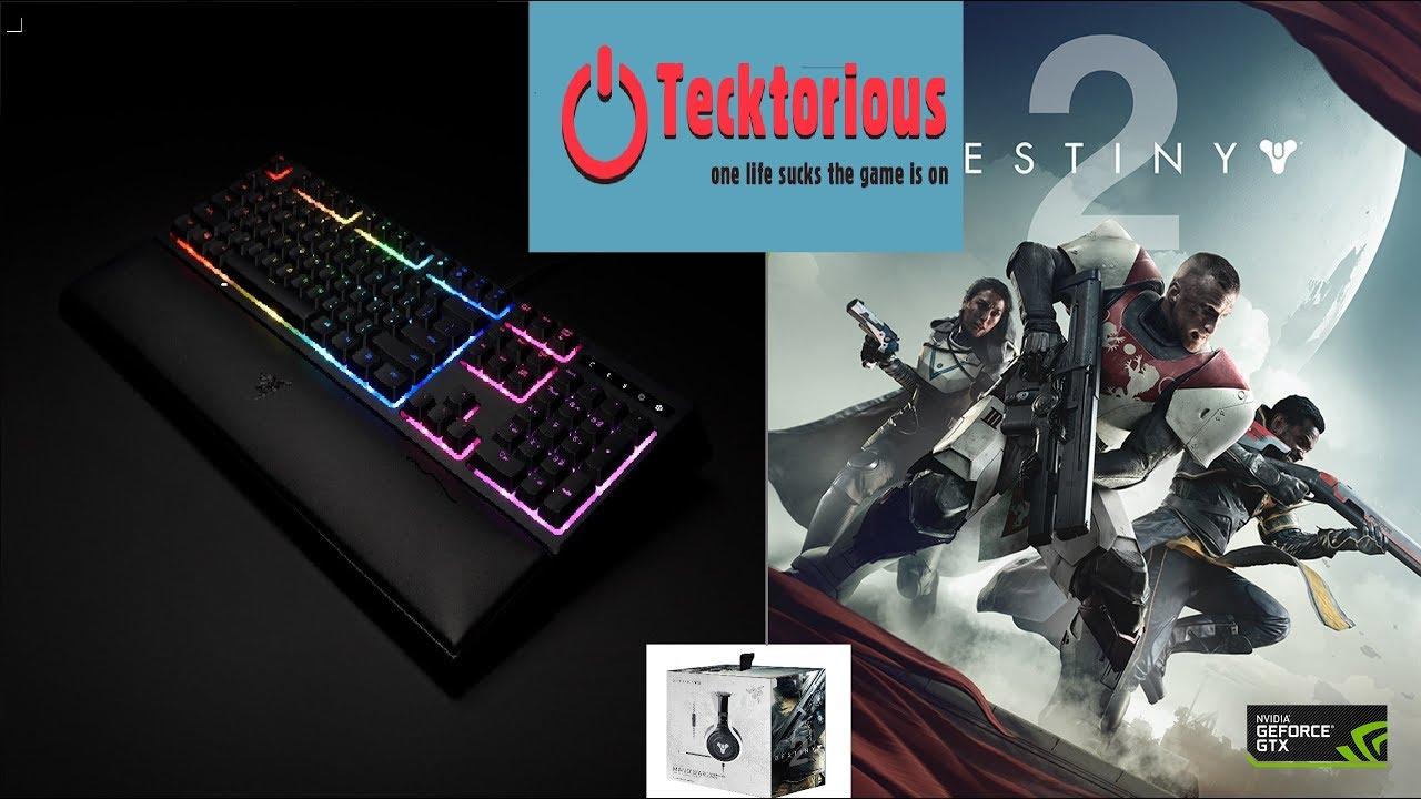 Razer Ornata Chroma Destiny 2 review-2 profiles +GIVEAWAY plus a  BONUS(Tecktorious)