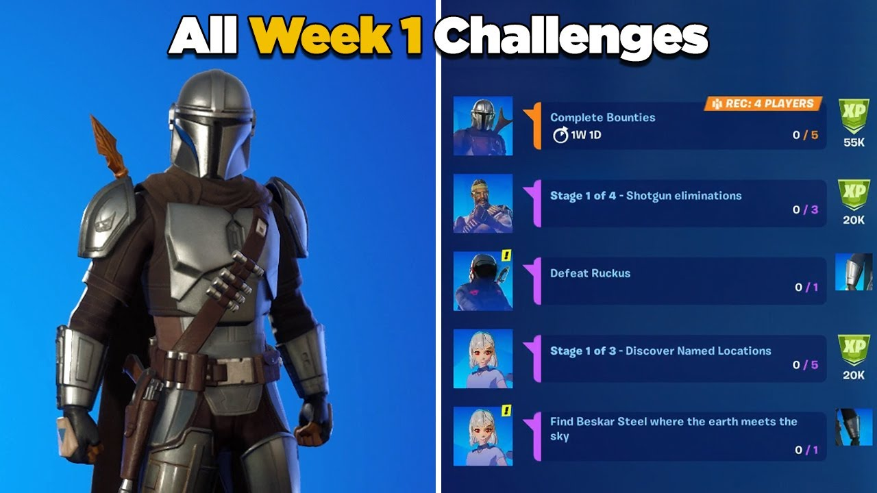 Fortnite All Week 1 Challenges Guide Fortnite Chapter 2 Season 5 Week 1 Epic Legendary Quests Youtube Island codes ranging from deathrun maps to parkour, mini games, free for all, & more. fortnite all week 1 challenges guide fortnite chapter 2 season 5 week 1 epic legendary quests