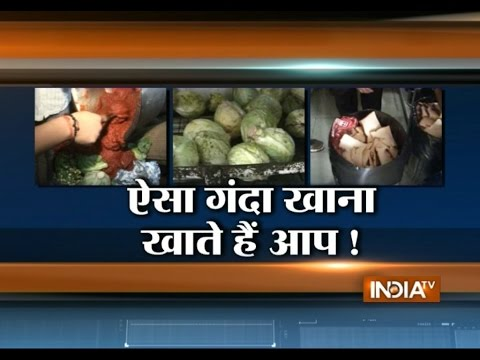 Ahmedabad: Watch Reality Check of Hotels, Serving Stale Food to Customers - India TV