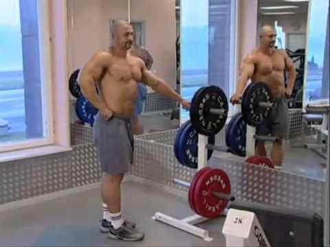 Растяжка мышц после тренировки