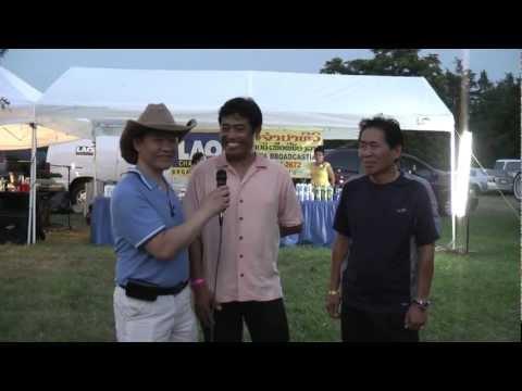 Interview with Champa Lao Satellite Crews  Lao Champa TV