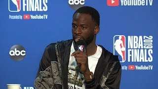 Draymond Green Postgame Interview - Game 4 | Raptors vs Warriors | 2019 NBA Finals