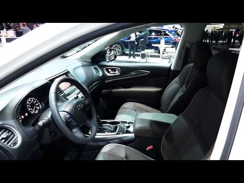 New 2018 Infiniti QX60 Luxury SUV - Quick Interior Tour - 2017 LA Auto Show, Los Angeles, CA