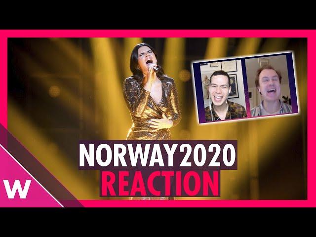 Ulrikke Brandstorp wins Melodi Grand Prix 2020 in Norway (REACTION)