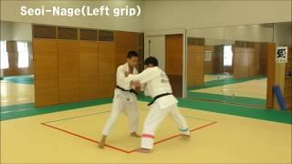 JUDO 4 directions Uchikomi(柔道4方向の打ち込み)