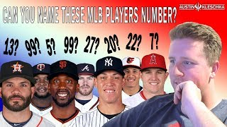 DO YOU KNOW THESE MLB PLAYERS NUMBERS? | Kleschka Quiz Time